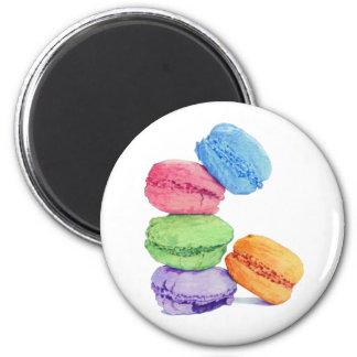 Magnet för 5 Macarons