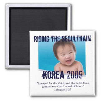 Magnet för adoptionbönpåminnelse