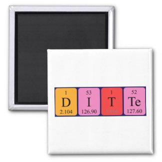 Magnet för Ditte periodisk bordnamn