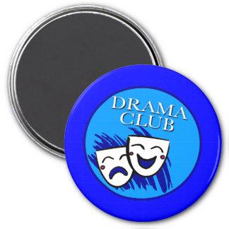 Magnet för dramaklubbemblem