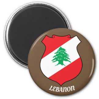 Magnet för för Libanon vapensköldkök/kontor
