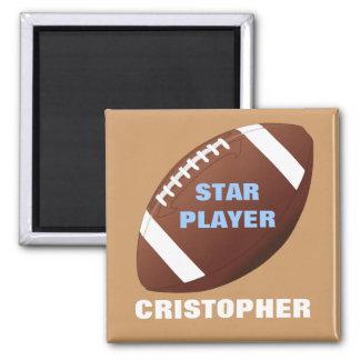 Magnet för fotbollstjärnapersonlig
