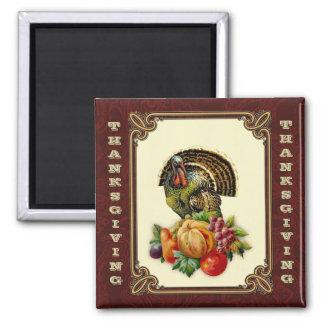 Magnet för gåva för thanksgivingvintagestil