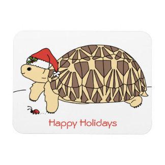 Magnet för helgdag för anpassadestjärnasköldpadda