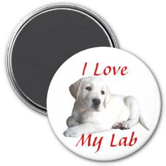 Magnet för kärlek för Labrador Retriever