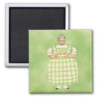 Magnet för kök för vintagefarmorkock