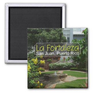 Magnet för LaFortaleza San Juan Puerto Rico kyl