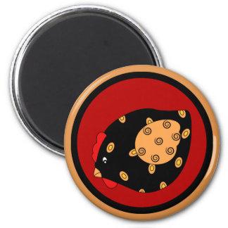 Magnet för landchickhöna