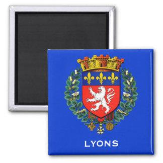 Magnet för Lyon frankrikevapensköld