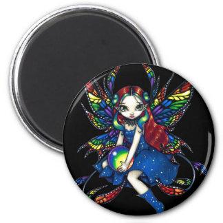 """Magnet """"för midnatt regnbåge"""" magneter"""