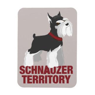 Magnet för miniatyrSchnauzerhund