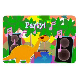 Magnet för partyDinosaurDJ