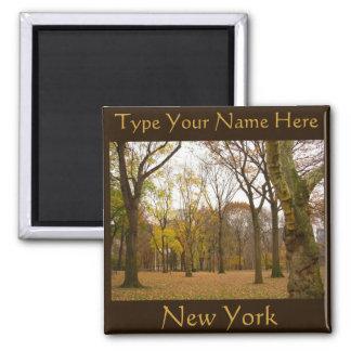 Magnet för personlig NYC för New York kylmagnet Kylskåpmagneter