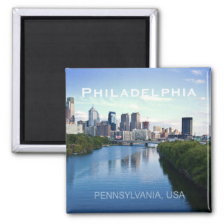 Magnet för Philadelphia Pennsylvania fotosouvenir