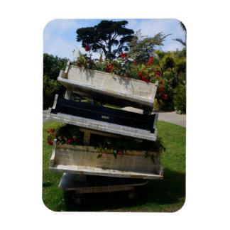 Magnet för piano för SF-botanisk trädgårdblomma