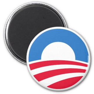 Magnet för presidentBarack Obama logotyp