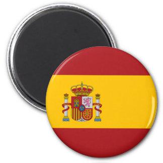 Magnet för Spanien medborgareflagga Kylskåpsnagnet
