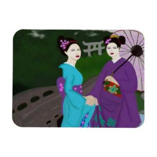Magnet för två Geishas