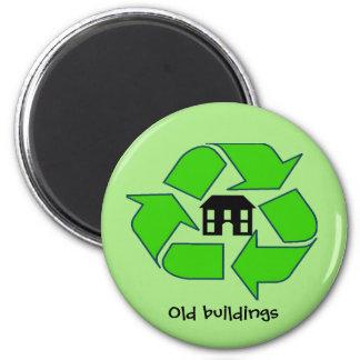 Magnet - gammala byggnader för återvinna