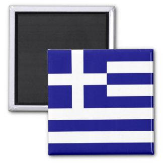 Magnet med flagga av Grekland Kylskåpsnagnet