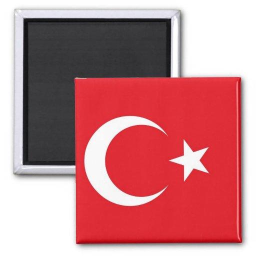 Magnet med flagga av Turkiet Kylskåps Magneter