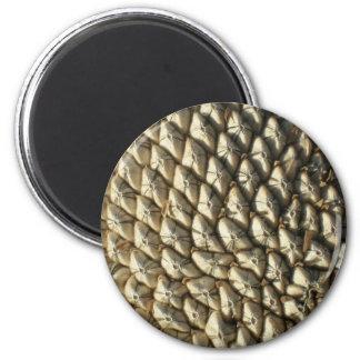 Magnet - solrosfrö magnet rund 5.7 cm