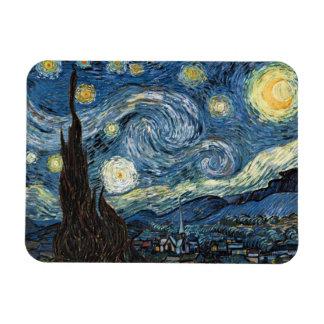 Magnet Vincent Van Gogh för Starry natt