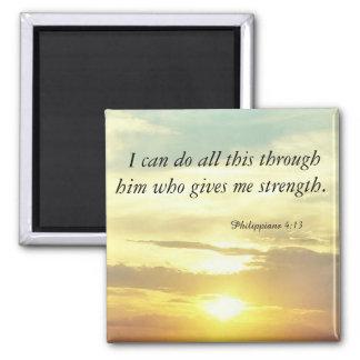 magneten för bibelPhilippians4:13 Magnet