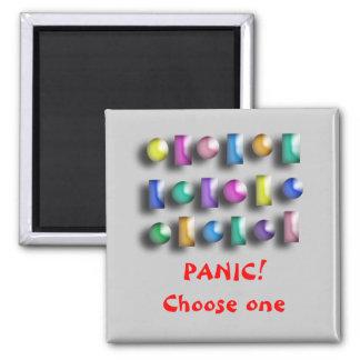 Magneten - göra panikslagen knäppas