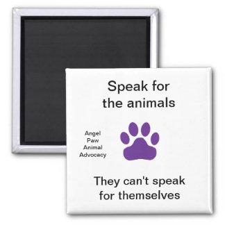 Magneten - tala för djuren