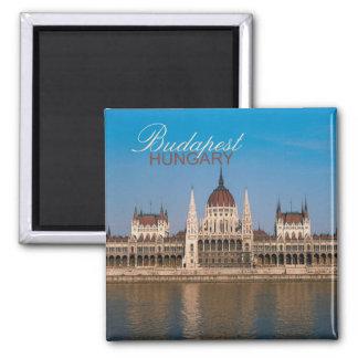Magneter för kyl för souvenir för Budapest Ungernf