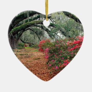 Magnolia Charleston för trädAzaleasOaks Julgransprydnad Keramik