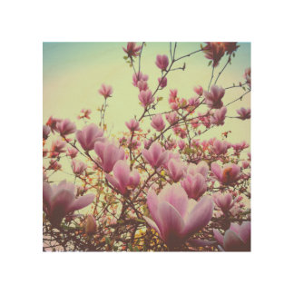 Magnolia Trätavla