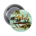 Mahalo hawaiiboö standard knapp rund 5.7 cm