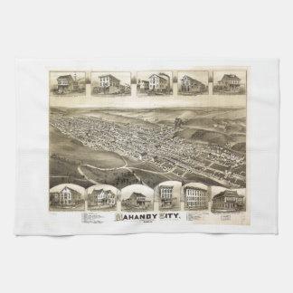 Mahanoy stad Pennsylvania (1889) Kökshandduk