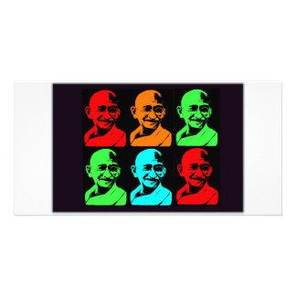 Mahatma Gandhi Collage Fotokort