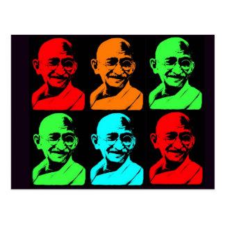 Mahatma Gandhi Collage Vykort