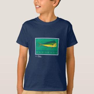 Mahi-Mahi barns mörka dräkt T-shirts