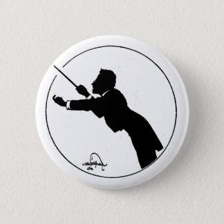 Mahler föra standard knapp rund 5.7 cm