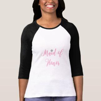Maid of honor möhippa som gifta sig rosor tröja