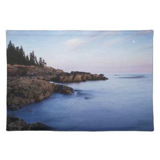 Maine Acadianationalpark, Moonset Bordstablett