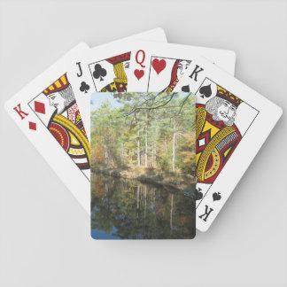 Maine bäck som leker kort casinokort