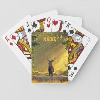Maine bockhjort spel kort