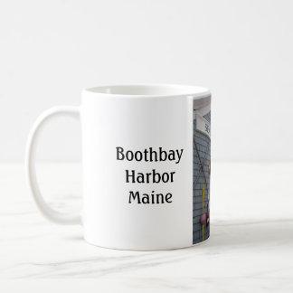 """Maine """"för fiskebyggnad"""" Boothbay hamn mugg"""