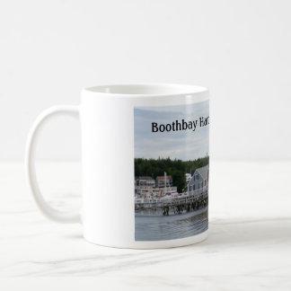 """Maine """"för Outbuildings"""" Boothbay hamn mugg"""