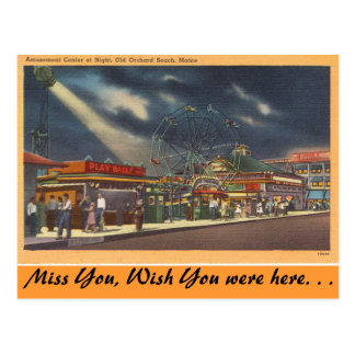 Maine munterheter, den gammala vykort