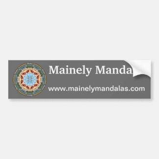 Maine statlig Mandalabildekal Bildekal
