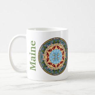 Maine statlig Mandalamugg Kaffemugg