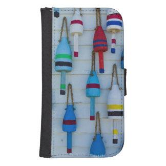 Maine Stonington, dekorativa hummerboj Plånboksfodral För Samsung Galaxy S4