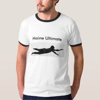Maine ultimat Ringer T Tee Shirts